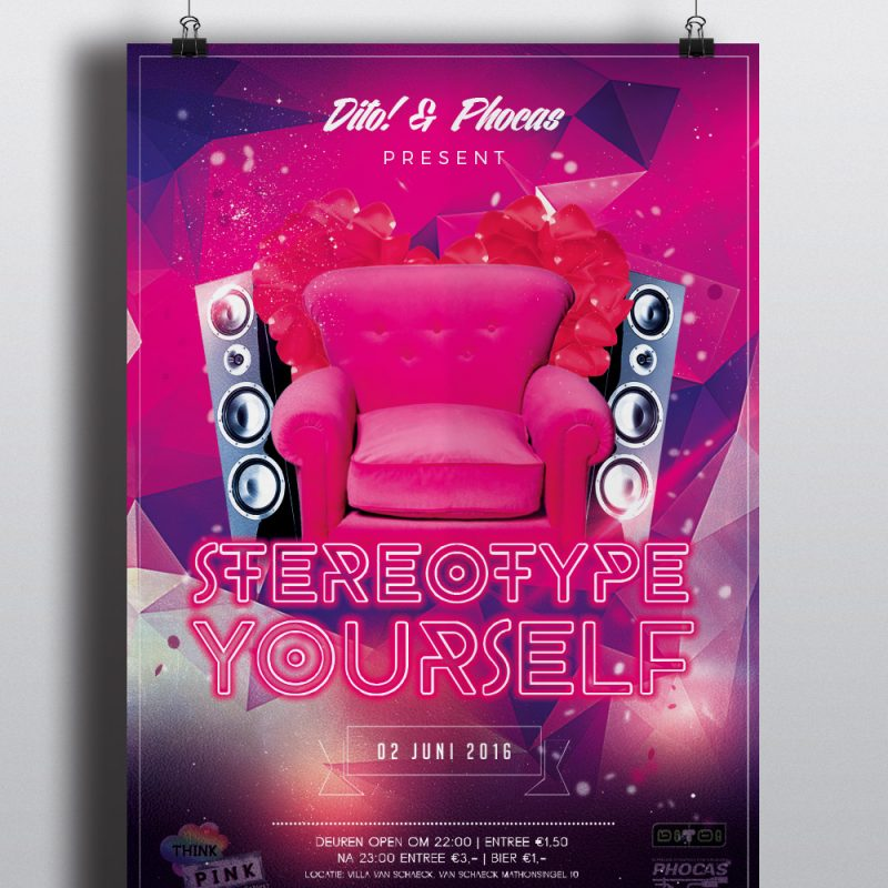 Stereotype Yourself Poster 2016