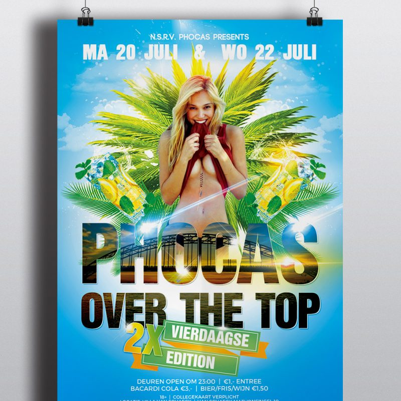 Phocas Over The Top Poster - 4daagse 2015