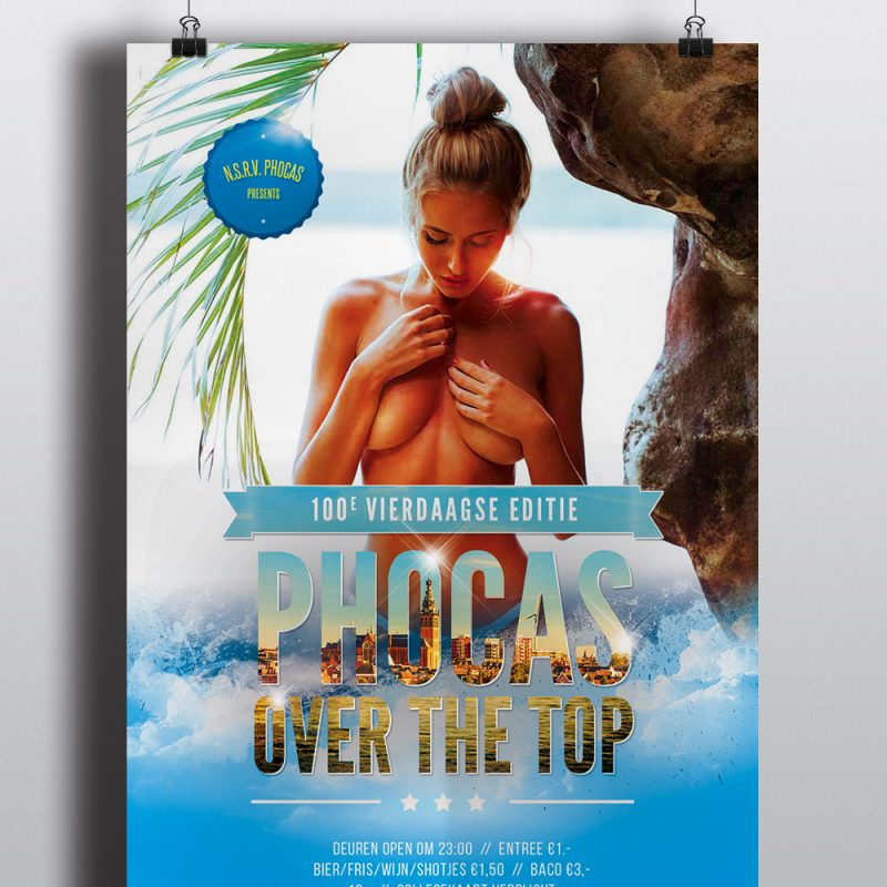 Phocas Over The Top Poster - 4daagse 2016