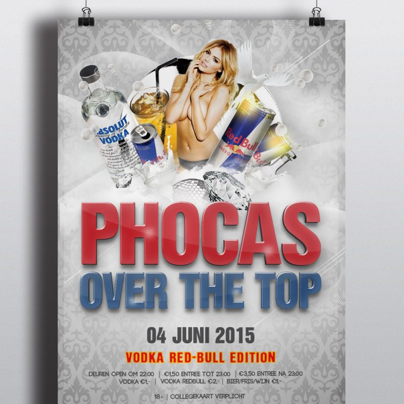 Phocas Over The Top Poster - Red Bull 2015