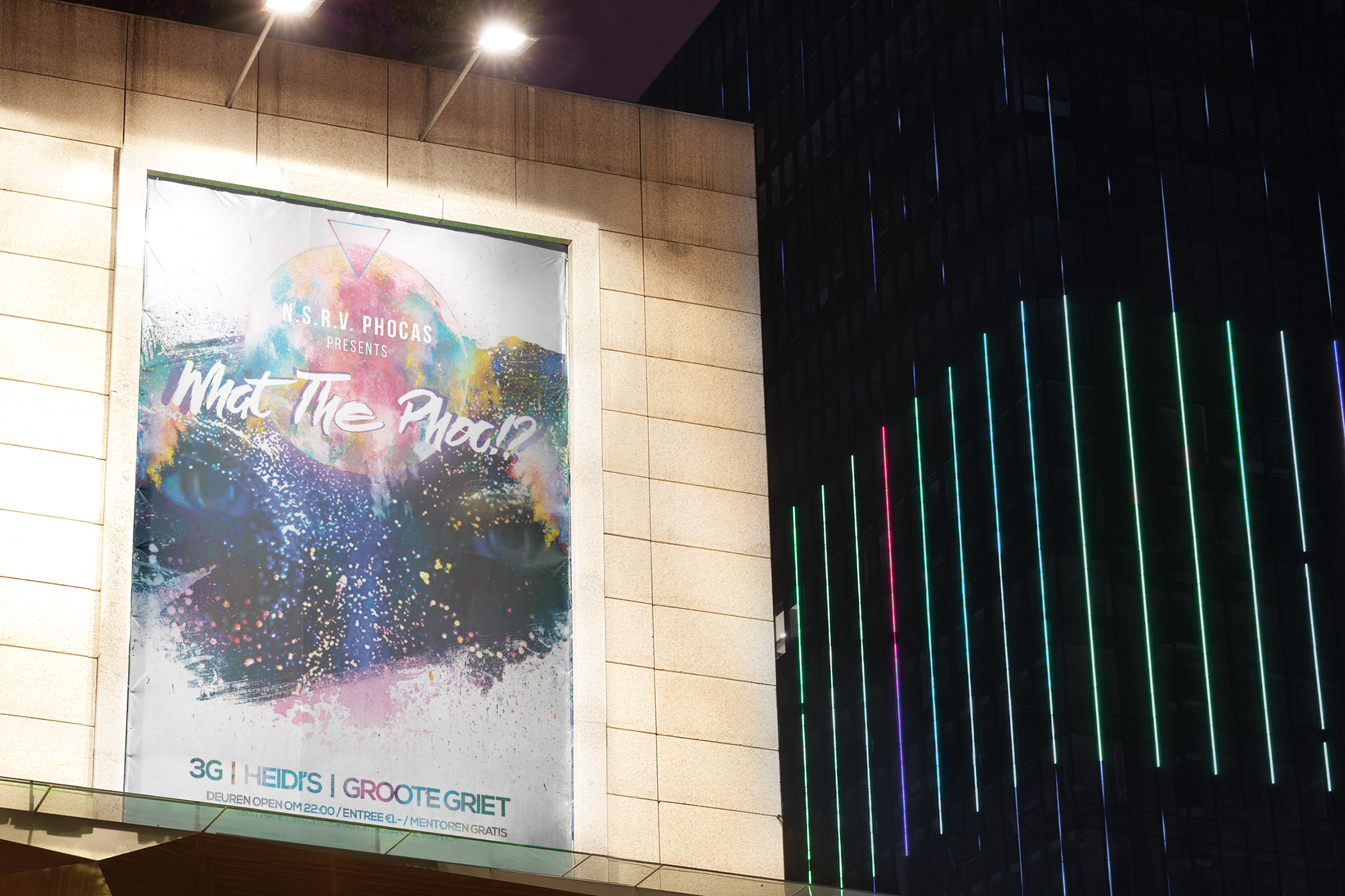 What the Phoc Poster mockup