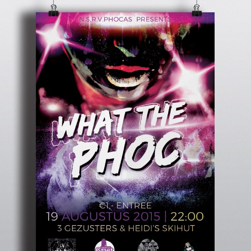 What the Phoc Poster 2015